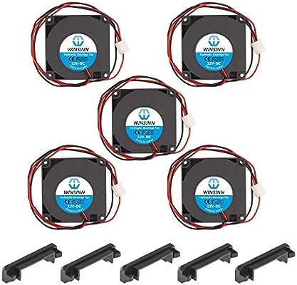 WINSINN 4010 Ventilador de rodamiento hidráulico de 5 V, 12 V, 24 ...