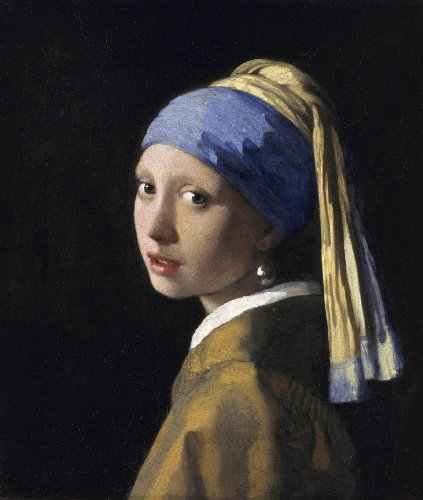 Girl with a Pearl Earring Johannes Vermeer Photo Art Print Poster