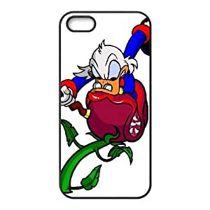 iPhone 5,5S Phone Case Black DuckTales Scrooge McDuck VGN3763889