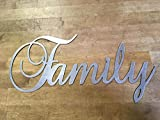 16″ to 36″ Family steel wall writing sign Review