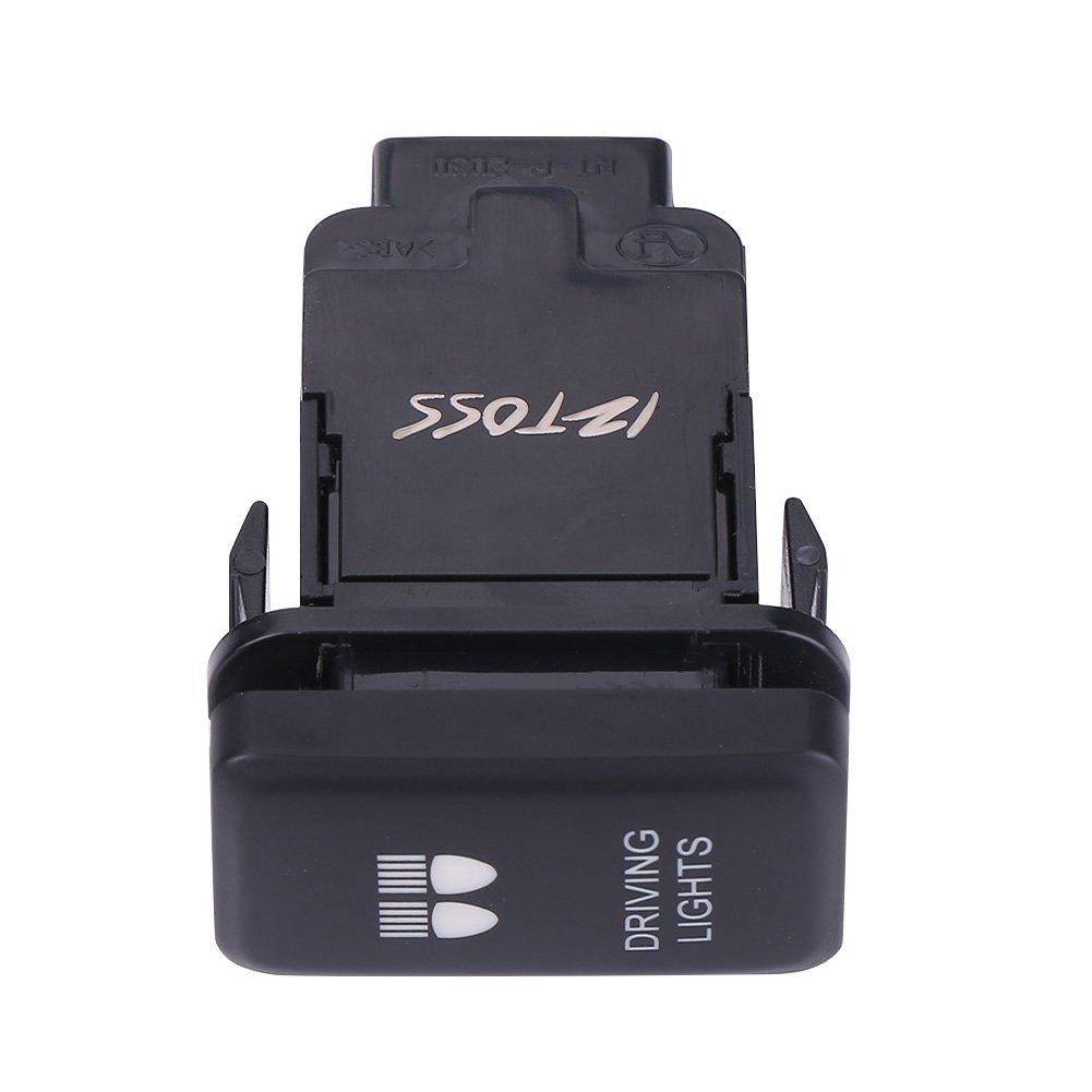 Interruptor basculante para autom/óvil de 12 V LED Auto para autom/óvil Encendido del interruptor basculante basculante para Hilux Landcruiser VIGO , Azul SPOT LIGHTS