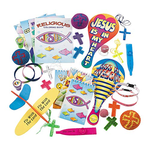 Fun Express - Religious Novelty Assortment (50pc) - Toys - Assortments - 50Pc Assortments - 50 Pieces