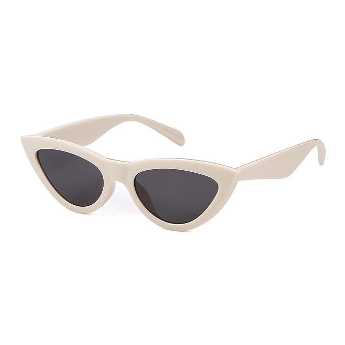 Amazon.com: Ojo de gato anteojos de sol Vintage moda retro ...