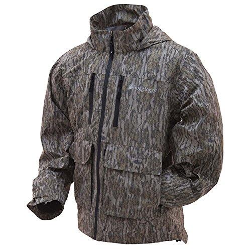 Frogg Toggs Men's Pilot Camo Guide Jacket, Mossy Oak Bottomland, X-Large