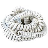SOUTHWESTERN BELL S60054 White Handset Cords, Office Central