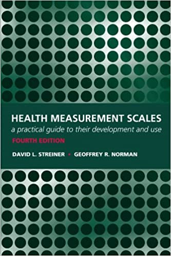 Health measurement scales a practical guide to their development health measurement scales a practical guide to their development and use david l streiner geoffrey r norman 9780199231881 amazon books fandeluxe Images