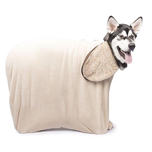 Dog Gone Smart Zip n' Dri, X-Large, Khaki