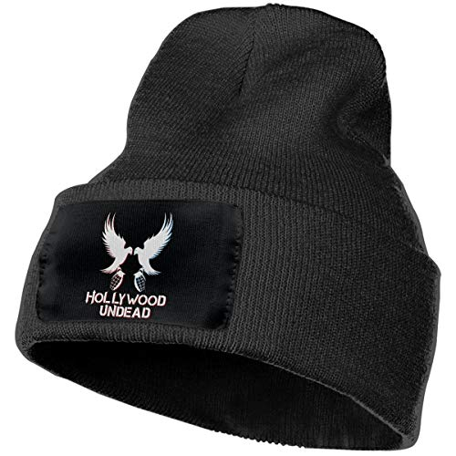 Hollywood Undead Hip Hop Band Unisex Winter Hats Beanie Caps Knit Hat Ski Skull Cap Cuff Beanie Hats -