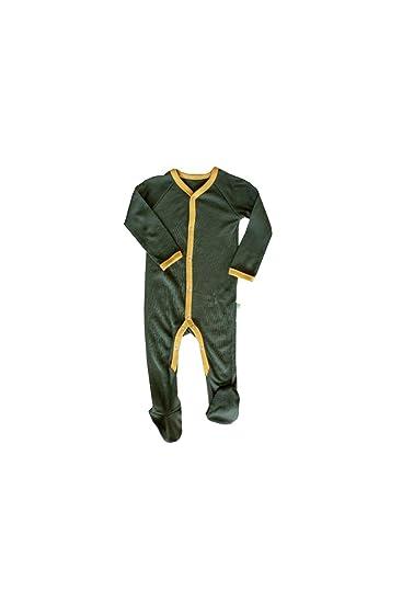 Green Rose Baby und Kinder Pyjamas aus 100/% Nat/ürlich Merino Wolle