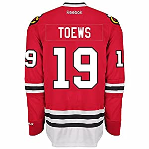 Johnathan Toews Chicago Blackhawks Reebok Premier Jersey (Red)