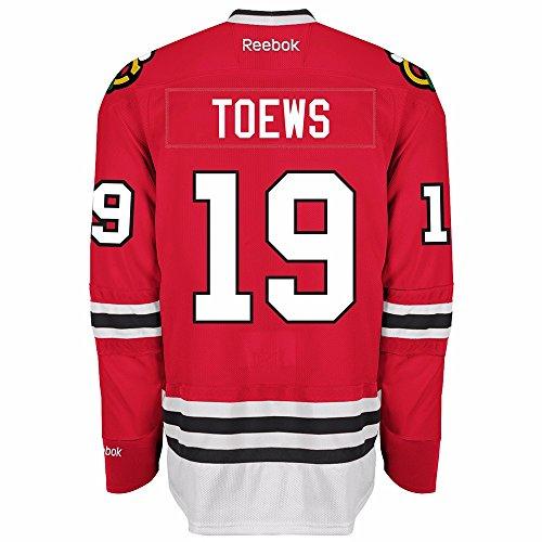 Reebok Men's NHL Chicago Blackhawks Jonathan Toews Premier Jersey Red Size Medium (Blackhawks Chicago Jersey Red)