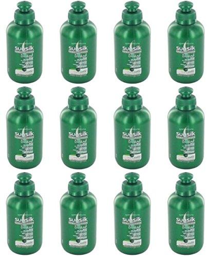 Sunsilk Co-Creations - Lote de 12 cremas para cabello ondulado y rizado