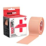 Rocktape Rocktaperx Kinesiology Tape for Patient Rehab Sensitive Skin, Beige, 0.29 Pound