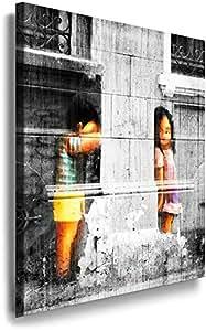 """Image""""Peekaboo"""", Banksy Graffiti Street Art 264-"""