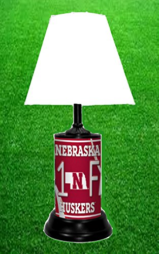 TAGZ Sports Nebraska Cornhuskers NCAA LAMP