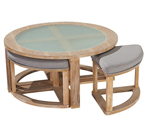Round & Circle Coffee Tables & Cocktail Tables