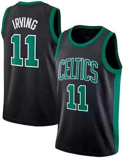 CCKWX Camiseta De Baloncesto para Hombre - Camiseta Boston Celtics ...