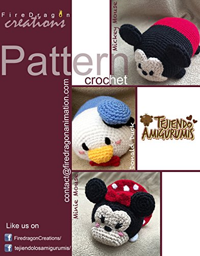 (MIckey, Minnie and Donald Tsum Tsum Amigurumi Pattern (Magic Hands Pattern Collections Book 1))