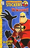 Coloring & Activity Book with Stickers : The Incredibles