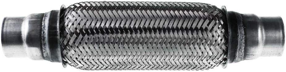 tubo di scappamento tubo di scappamento per riparazione 70 x 200 mm tubo di scappamento tubo flessibile Tubo di scarico rete metallica universale
