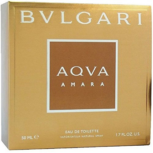 Bvlgari Aqva Amara Eau de Toilette Spray for Men, 1.7 - Bulgari Mens