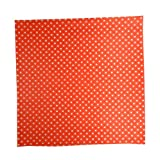 Regency Wraps RW376RED-D50 Treat Sheets, Red with White Dots, Set of 50 Liners
