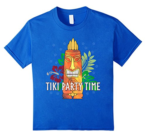 Tiki Party Time Luau Hawaiian Party T-Shirt
