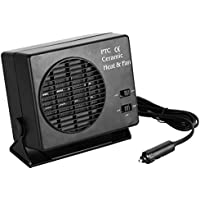Evokem Portable Car Heater Fan 2 in 1 Heating Cooling Warmer Defroster Demister 12V 150/300W
