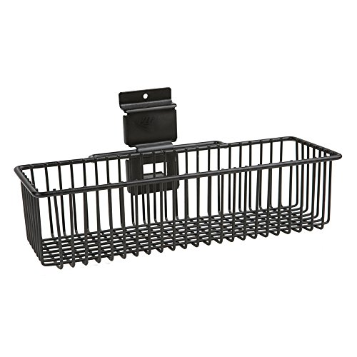 Viper Tool Storage VSW124BASK Slat Wall 12-Inch by 4-Inch Mini Basket