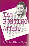 Front cover for the book The Ponting affair by Richard Norton-Taylor