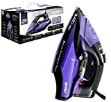 Eureka ER18003 Blaze 1800-Watt Micro Steam Iron Patent Nano Ceramic Soleplate with Auto-Off, Anti Drip
