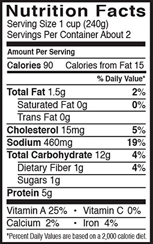 Pacific Foods, Organic Reduced Sodium Chicken Noodle Soup (Pack of 6) by Pacific Foods