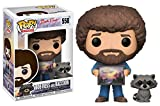 Funko Pop TV Bob Ross with Raccoon (Styles May Vary) Collectible Figure
