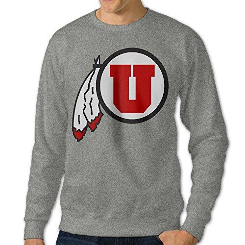 University Logo Crewneck Sweatshirt Ash ()