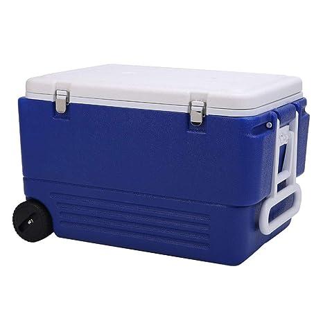 LIYANLCX Refrigerador para Acampar con Capacidad de 80 l/Nevera ...