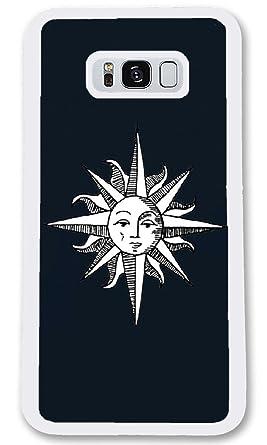 Amazon Com Samsung Galaxy S8 Case Custom Moon And Sun Mixed