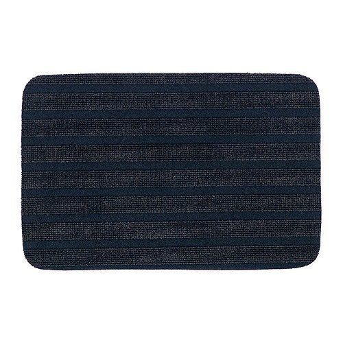 IKEA BORRIS - Door mat, dark blue - 38x57 cm