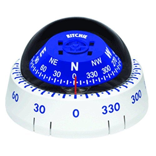 - Ritchie XP-99W Kayaker Compass - Surface Mount - White consumer electronics
