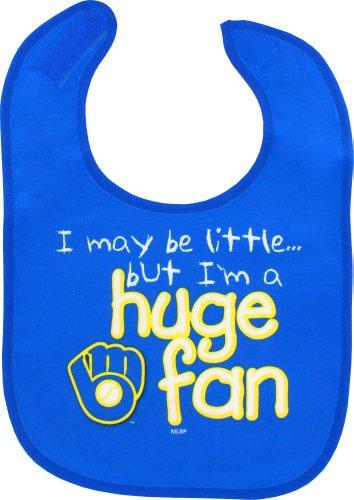 (WinCraft Milwaukee Brewers Glove Logo Huge Fan Baby Bib)