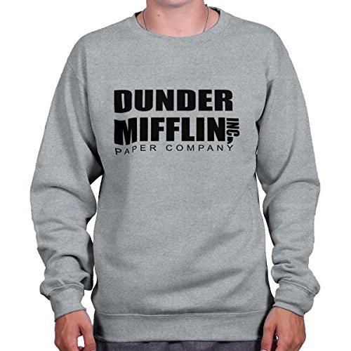 Brisco Brands Dunder Mifflin Paper Company Shirt Office Jim Pam Dwight Cool Sweatshirt