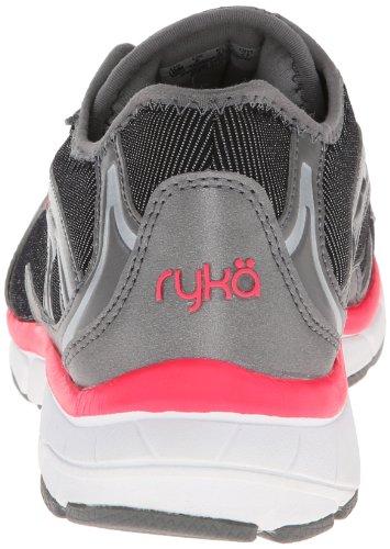 RYKA Womens Prodigy 2 Stretch Running Shoe Black/Steel Grey/Coral Rose/Chrome Silver fxbPI