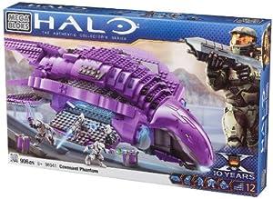 Amazon.com: Megabloks Halo Covenant Phantom: Toys & Games