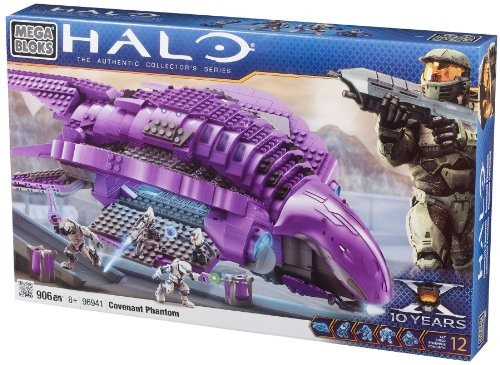 Megabloks Halo Covenant Phantom by Mega Bloks