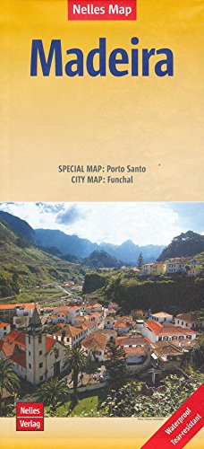 Madeira 1:60,000 Visitor's Hiking Map, waterproof NELLES
