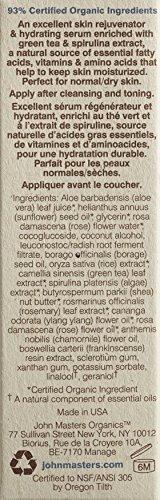 John Masters Organics Hydrating Face Serum, Green Tea and Rose, 1 Ounce