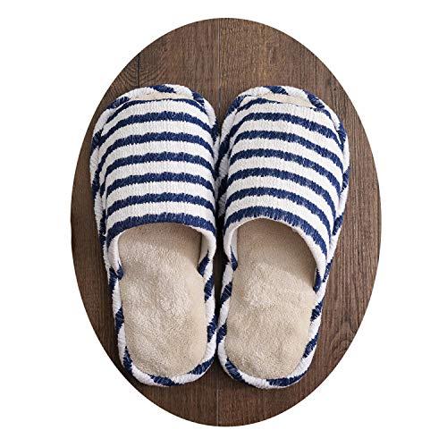 In Scarpe Donna Cura Danneggiano Jzx Mute Non Da Massaggianti Corpo 35 38 Per Casa Del Cotone La Pantofole Le Ciabatte blu qZtwZ7z