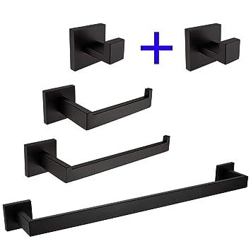 Amazon.com: TURS - Juego de accesorios de baño (4 piezas ...