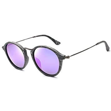 Sunglasses Gafas de Sol, Montura Redonda pequeña ...