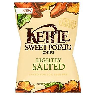 80g caldera patatas fritas al horno de batata ligeramente salada ...