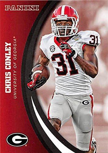 Chris Conley Georgia Bulldogs Football Jersey White
